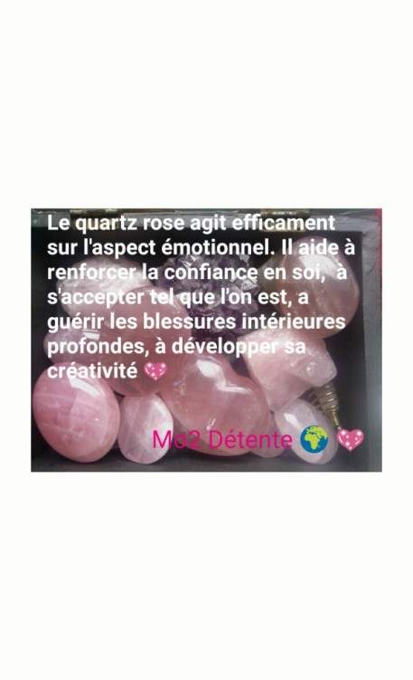 Les bienfaits du Quartz Rose