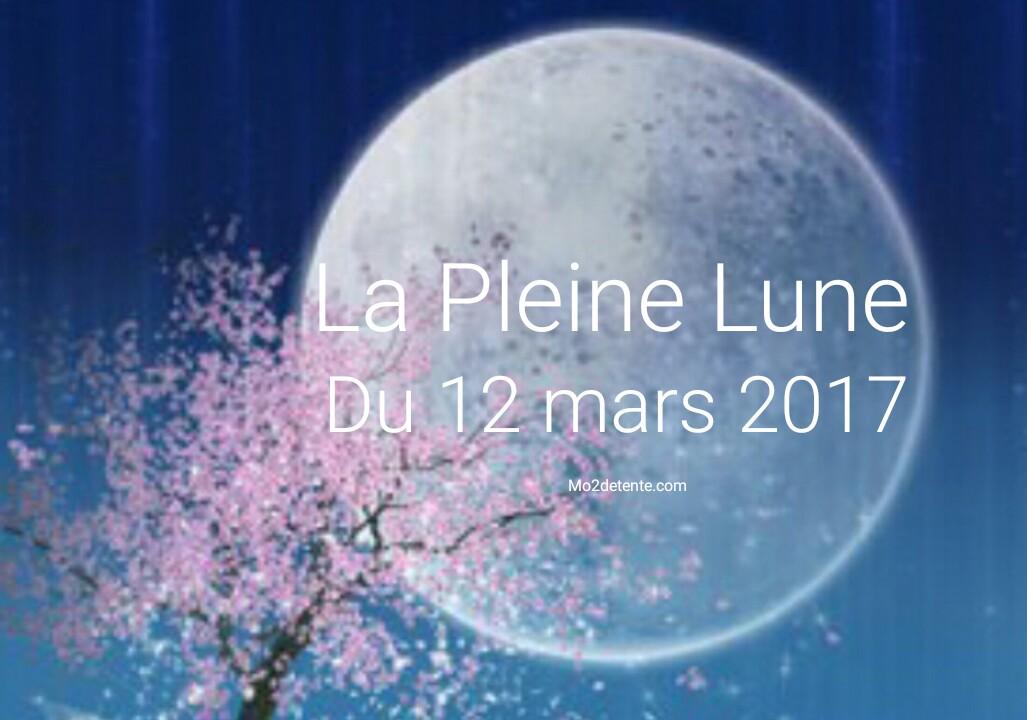 Favori Le Grand Changement: Maud : La Pleine Lune du 12 mars 2017 ! LM61